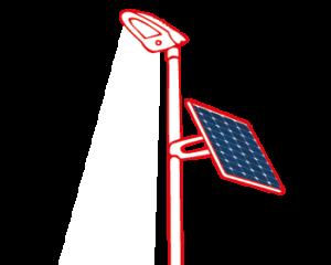 BETONOVY SLOUP SOLAR VACSIE