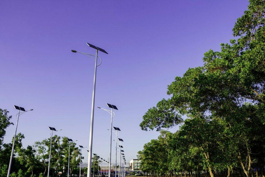 Solarni LED verejne osvetleni ulice